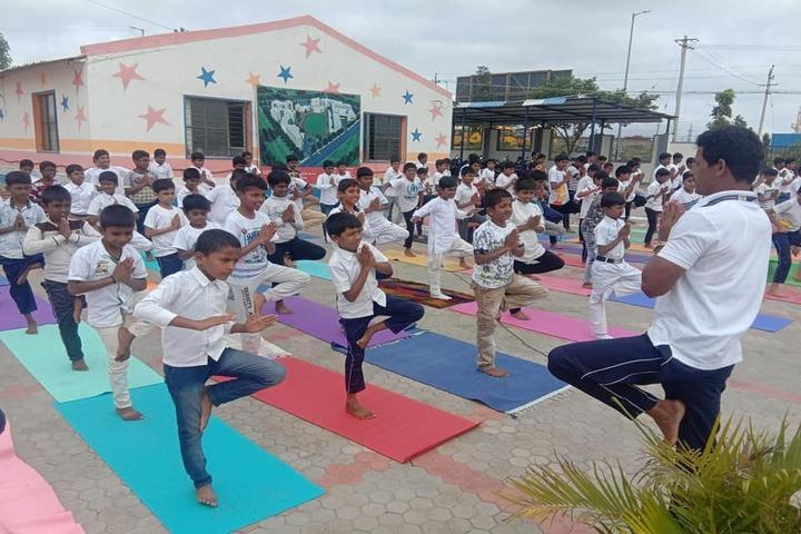 Vidya Soudha Public School-Yoga