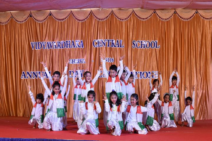 Vidyavardhaka English Medium School-Independence Day Celebrations