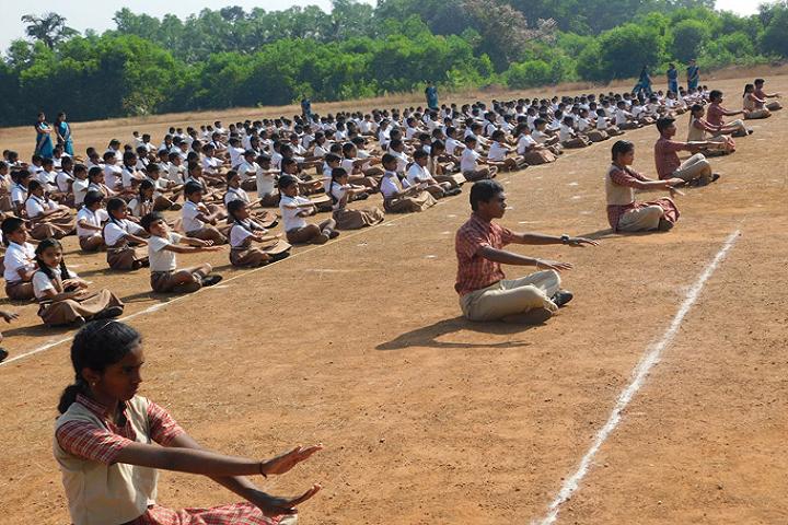 Vidyavardhaka English Medium School-Yoga