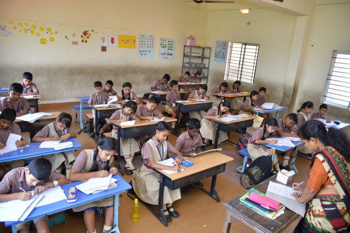 Vishwa Vinayaka National English Medium School-Classroom