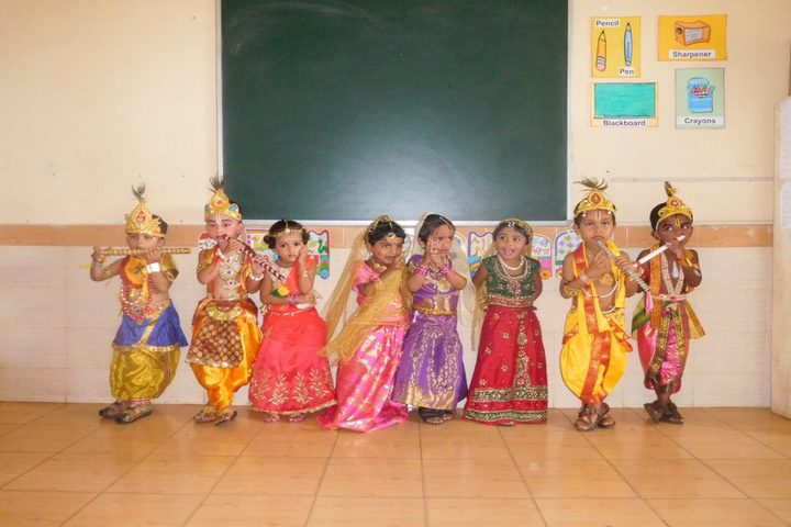 Vishwa Vinayaka National English Medium School-Krishnastami Celebrations
