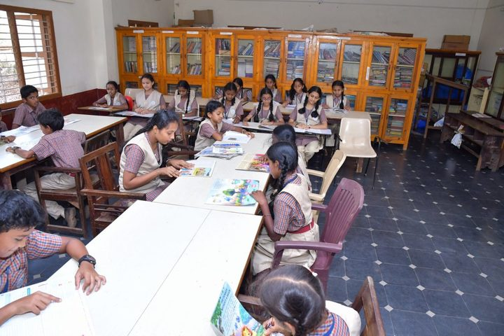 Vishwa Vinayaka National English Medium School-Library
