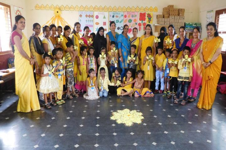 Vishwa Vinayaka National English Medium School-Yellow Day Celebrations