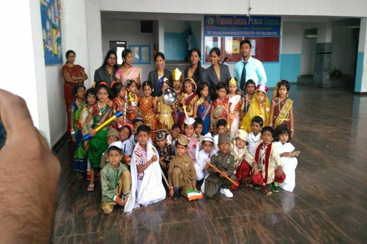 Vision India Public School-Fance Dress Competitio