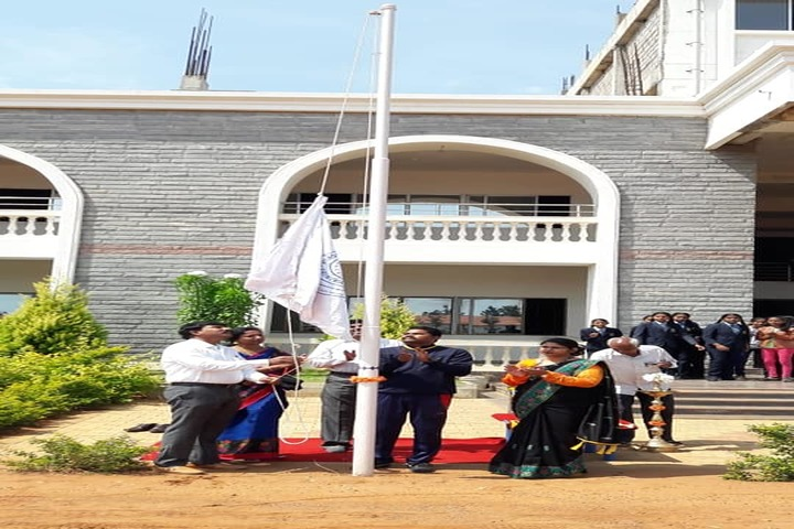 Vision India Public School-Flag Hosting