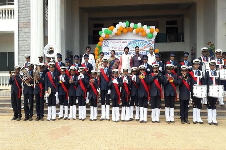 Vision India Public School-Independence Day Celebrations