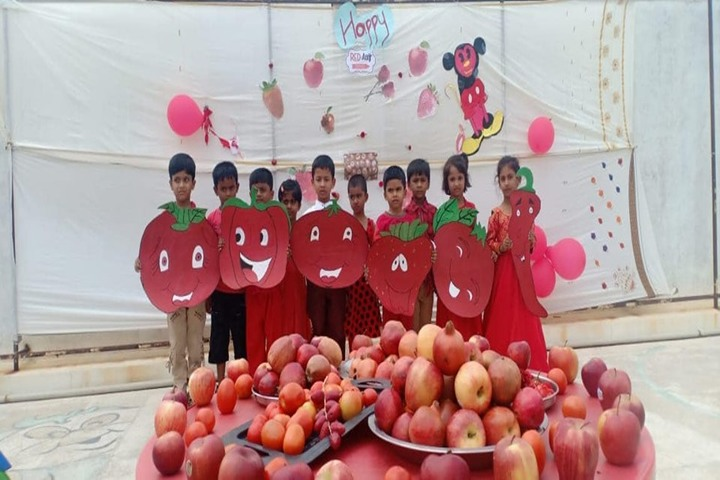 Vision India Public School-Red Day Activity