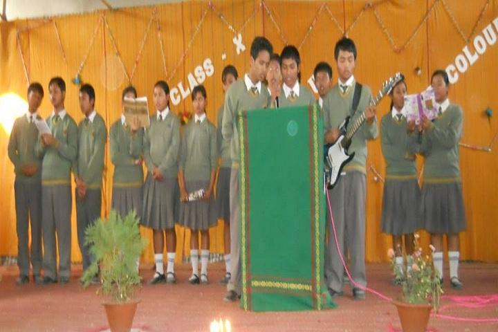 Jesus Mary School-Singing
