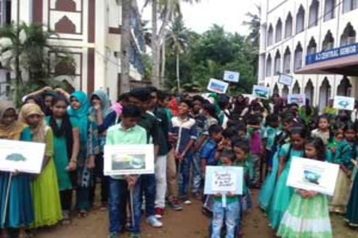 A J Central Senior Secondary School - Rally