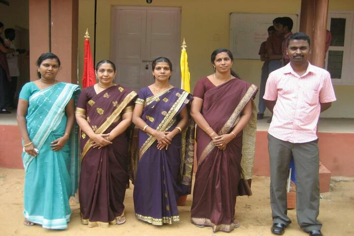 A J Central Senior Secondary School - Staff
