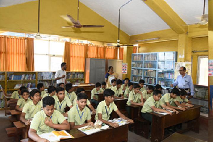 A J I Senior Secondary English School-Library