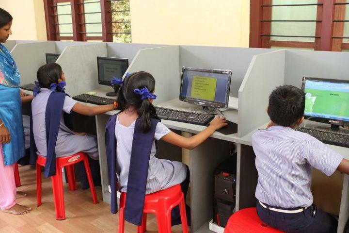Adwaita Mission Public School-Computer Lab