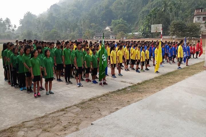 Kaziranga English Academy- Sports day