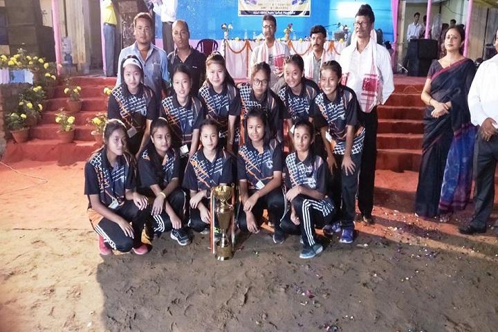 Kaziranga English Academy-Volley Clusters