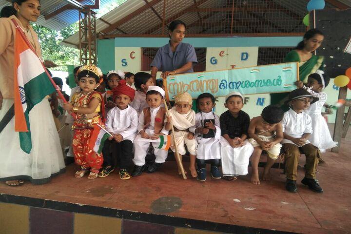 Aishwaraya Public School-Independence Day