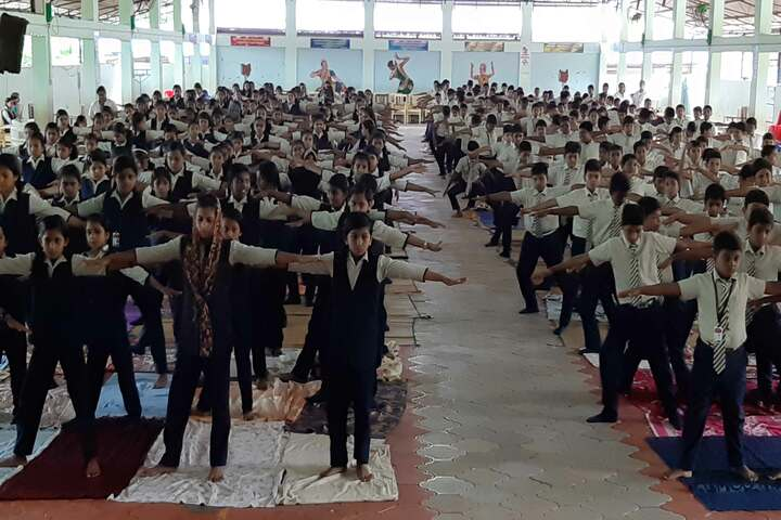 Aishwaraya Public School-Yoga