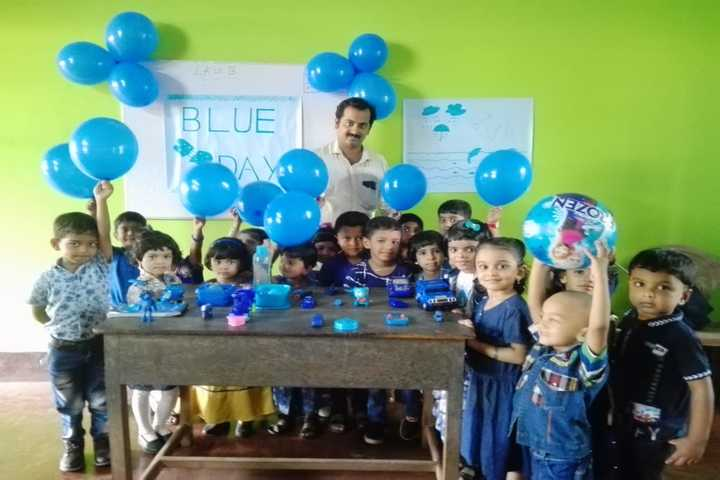 Al Ameen Central School-Blue Day