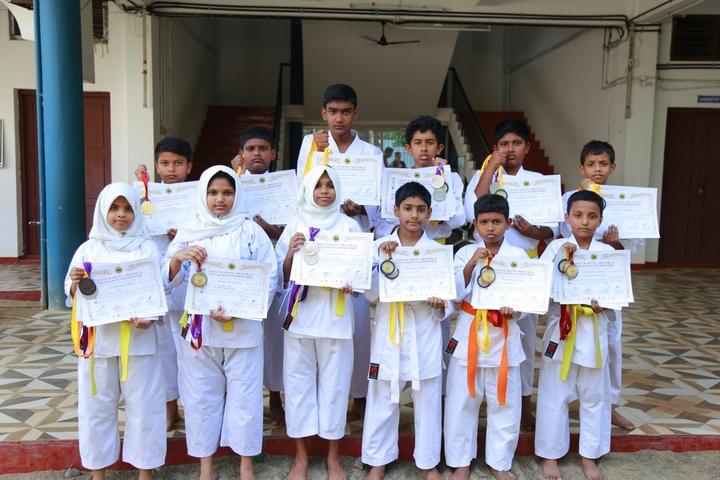Al Ameen Central School-Award