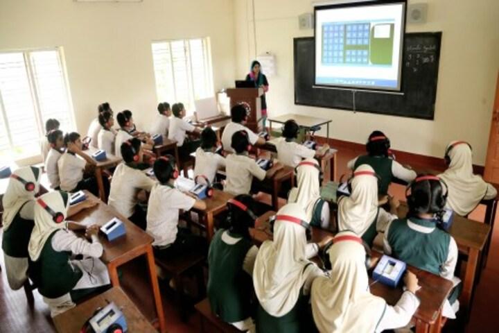 Al Ameen Public School-Language Lab