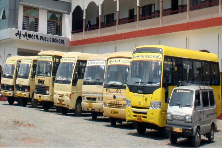 Al Ameen Public School-Transport
