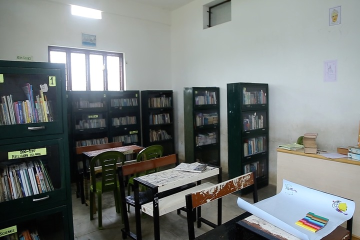 Al Falah English School-Library