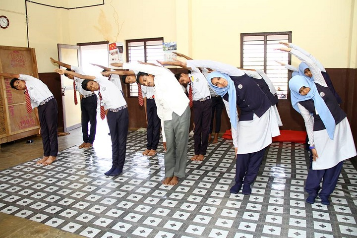 Al Fouz Jamia English School-Yoga Day