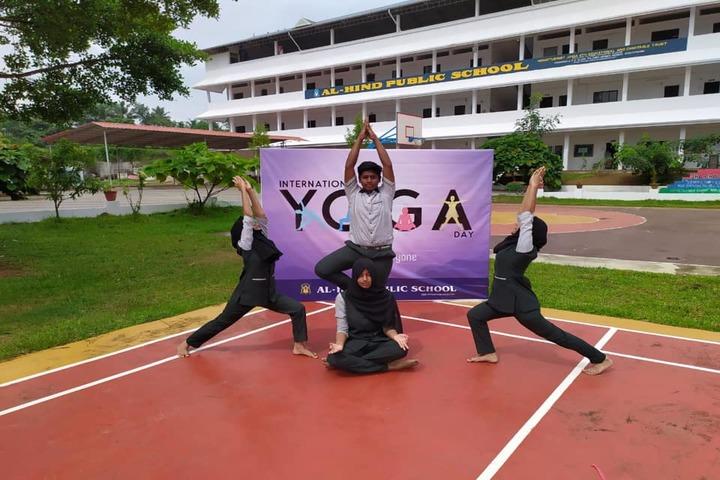 Al Hind Public School-Yoga
