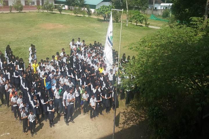 Al Huda English School-Assembly
