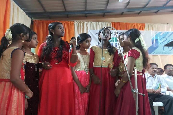 Al Ameen Central School-Singing