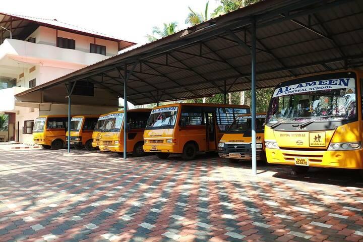 Al Ameen Central School-Transport