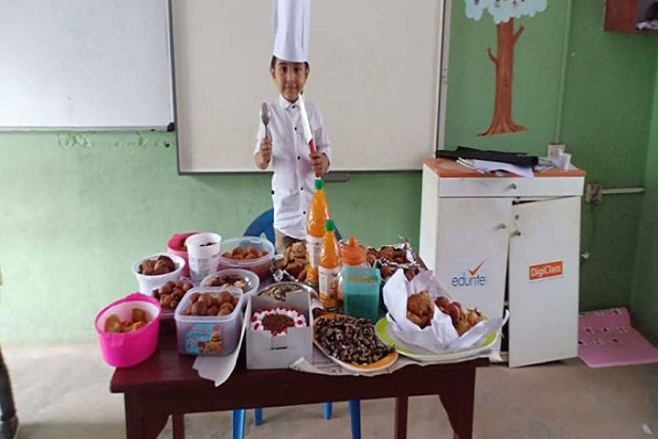 Al-Ameen English School-Cooking Activity