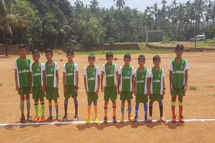 Al-Ameen English School-Sports Team