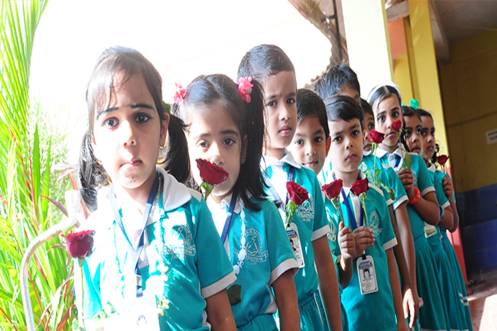 Al Falah Amm English School-Rose Day
