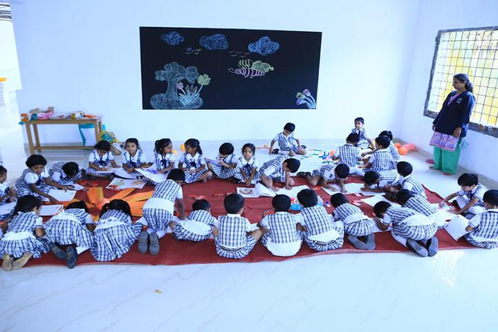 Alangad Jama Ath Public School-Drawing
