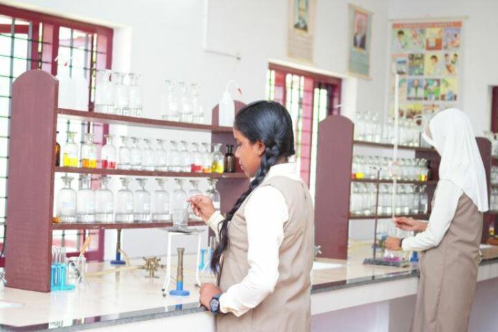 Alhuda Public School-Chemistry Laboratory