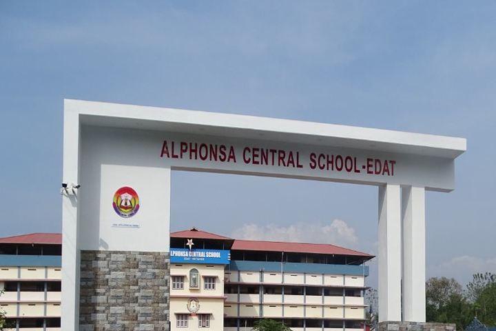 Alphonsa Central School-Entrance Gate