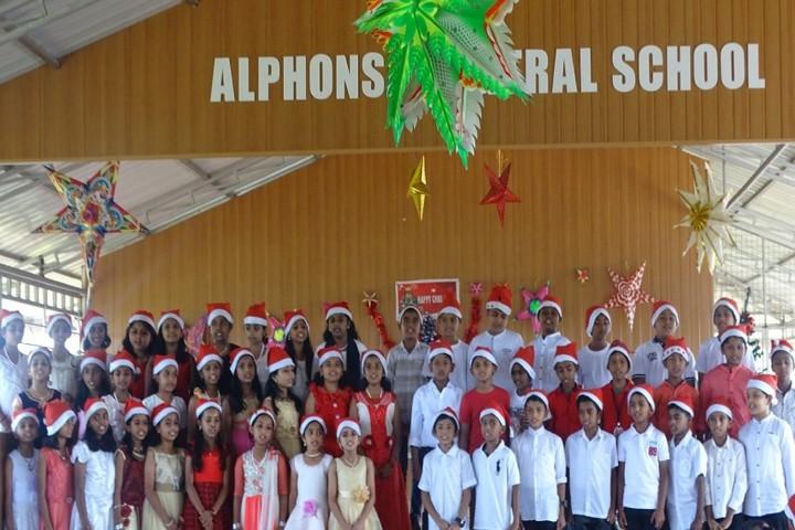 Alphonsa Central School-Chirstmas