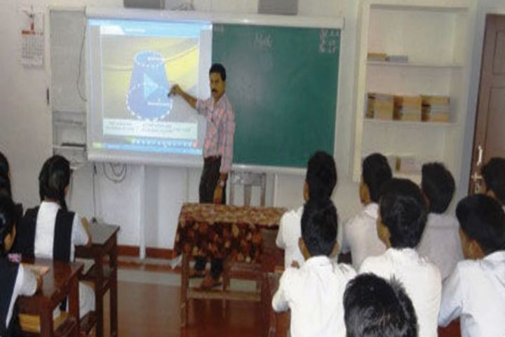 Alphonsa English Medium School-Classroom