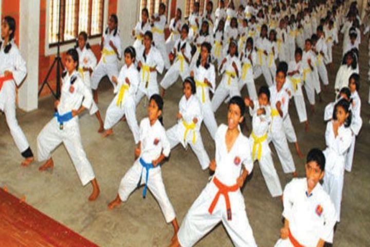Alphonsa English Medium School-Karate