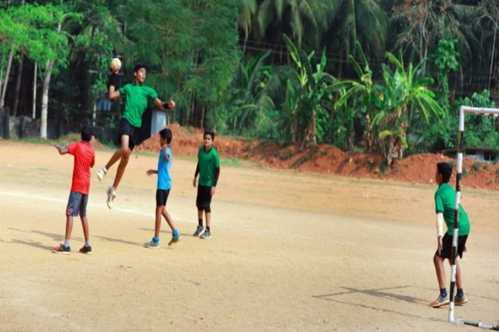 Alphonsa English Medium School-Playground