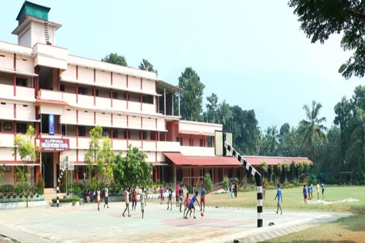 Alphonsa English Medium School-School Building