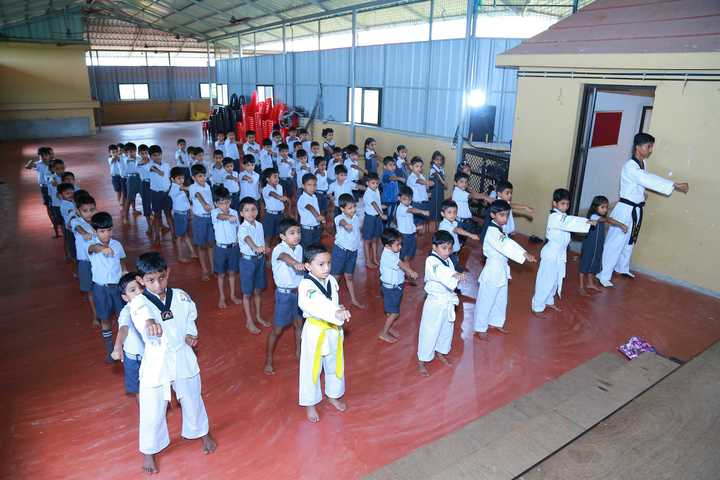 Amal Public School-Karate