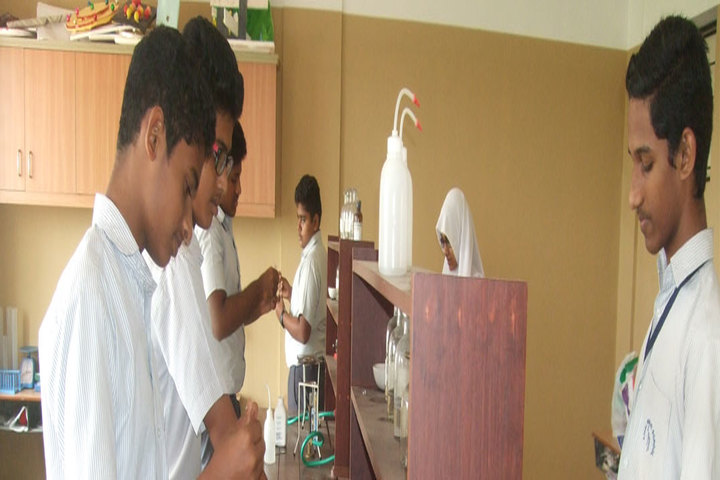 Amal Public School-Science Lab