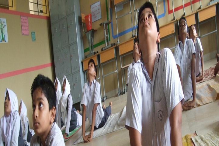 Amal Public School-Yoga