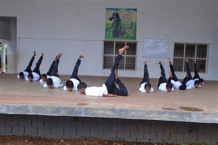 Amala Mary Rani Public School-Yoga-Day