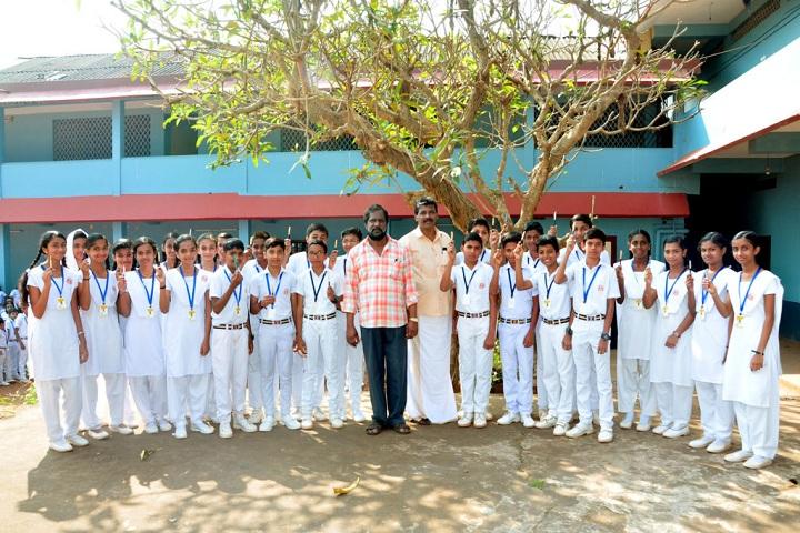 Ambika English Medium School-Group Photo