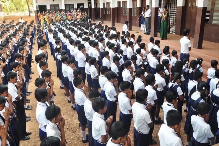 Amrutha Public School-Assembly