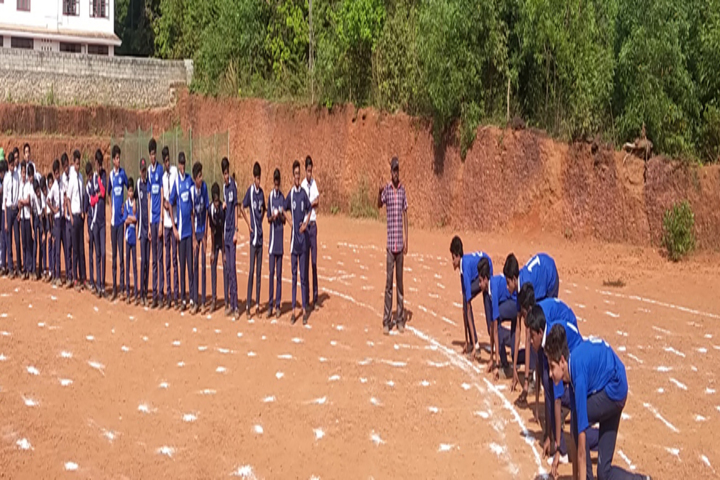 Amrutha Public School-Playground