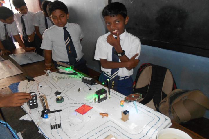 Amrutha Public School-Science Exhibition
