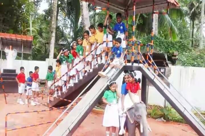 Angels Arc English Medium School-Play Area